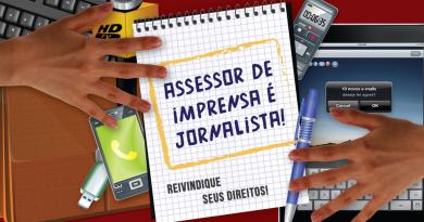 Assessor de imprensa é jornalista