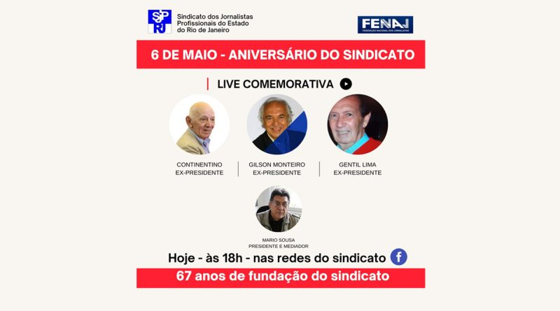 Aniversário do Sindicato: 67 anos de fundação