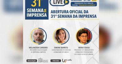 Associação Campista realiza Semana de debates com jornalistas