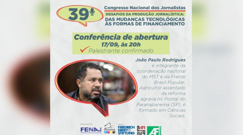 39° Congresso Nacional dos Jornalistas